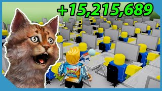 I Made $15,215,689 by Deleting Roblox - Roblox Coder Simulator