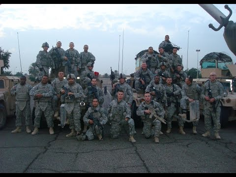 Alpha Company 4/64 - 4th Brigade - 3rd Infantry Division. Video 2