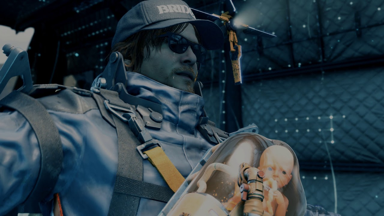 PS4《Death Stranding》遊戲玩法初步介紹 4K 中文影片