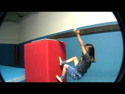 Freerunning Girl 7yrs old Parkour Ninja San Jose-GuardianNexus.com