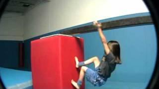 Freerunning Girl 7yrs old Parkour Ninja Bayfield CO-GuardianNexus.com thumbnail