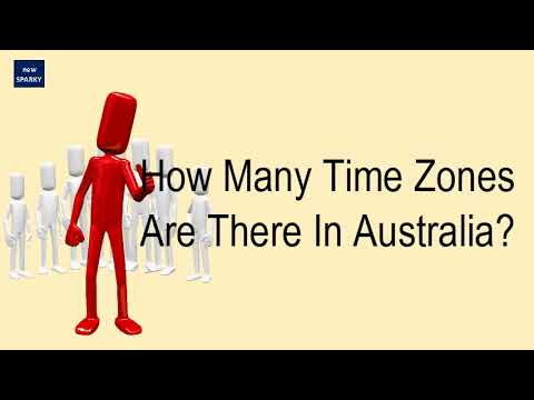 How Many Time Zones Are There In Australia?