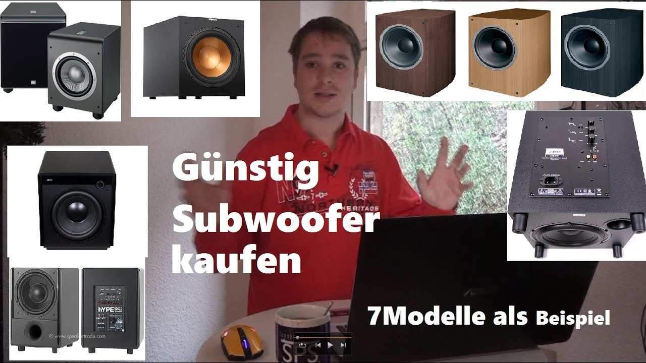 subwoofer g nstig und gut kaufen welcher ist gut kaufberatung musikanlage youtube. Black Bedroom Furniture Sets. Home Design Ideas