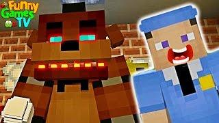 - ФНАФ Пять Ночей С Фредди В Майнкрафт. FNAF Five Nights at Freddy s Minecraft