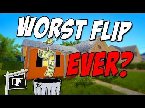 Flipping The Biggest House Yet! And Failing! - House Flipper Beta Gameplay Part 4