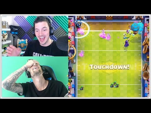 Thumbnail: Let's Play TOUCHDOWN | Clash Royale New Games Modes Update!