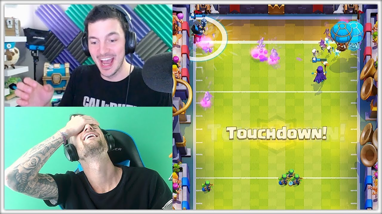 Let's Play TOUCHDOWN | Clash Royale New Games Modes Update!