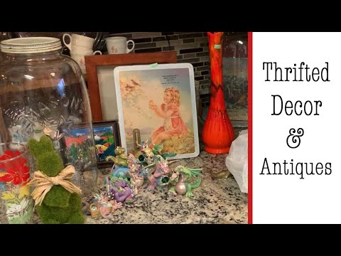 How Do You Drop off 150 YEAR OLD ANTIQUES???? 😧 // Thrift Store Haul
