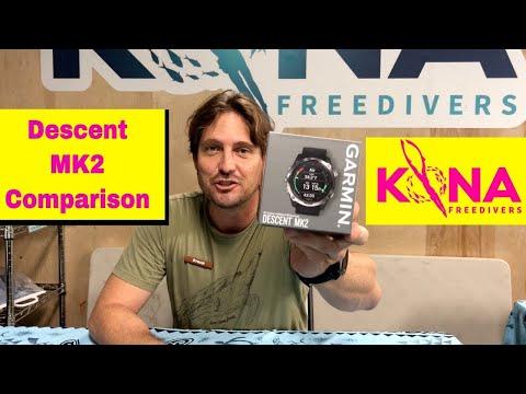 garmin-mk2-unboxing-&-comparison-with-descent-mk1- -kona-freedivers