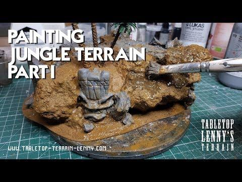 Tutorial: Painting Jungle Terrain Part I