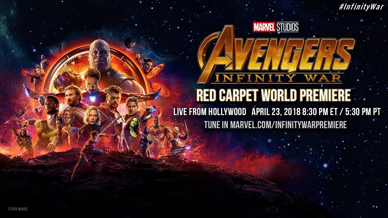 Watch the Avengers: Infinity War Hollywood Premiere Live-Stream | E