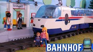 Playmobil Film deutsch - Warterei am Bahnhof  - Playmobil Zug - Eisenbahn