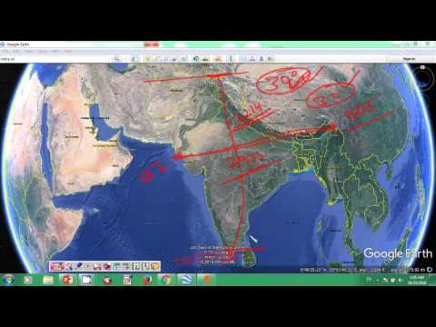 Indian Geography on map - online class -01