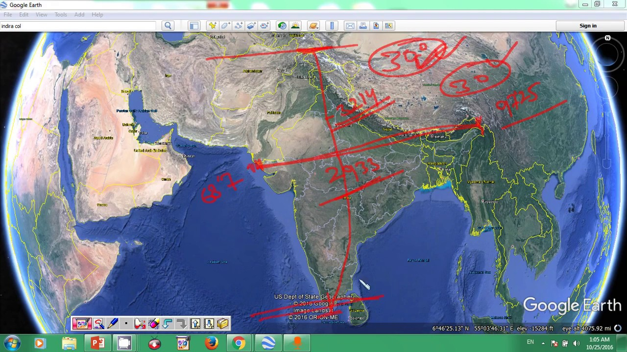 Indian geography on map online class 01 youtube gumiabroncs Choice Image