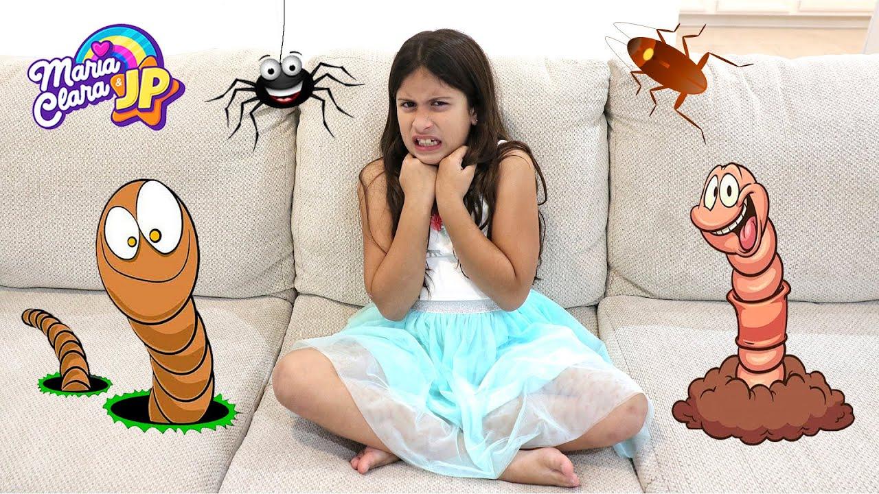 Maria Clara mostra como as crianças não devem se comportar ♥ Story about how Kids should not behave