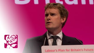 Tristram Hunt MP's speech to Labour Conference 2014