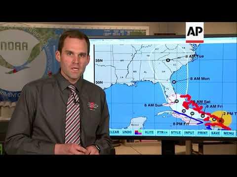 New Track Has Irma Directly Hitting South Fla.