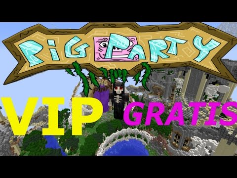 COME RICEVERE VIP GRATIS MINECRAFT PIG PARTY PARKOUR