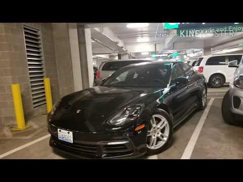 How to start Porsche panamera