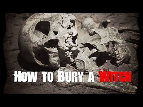 The Stories Behind 5 of the Strangest Witch Burials in History