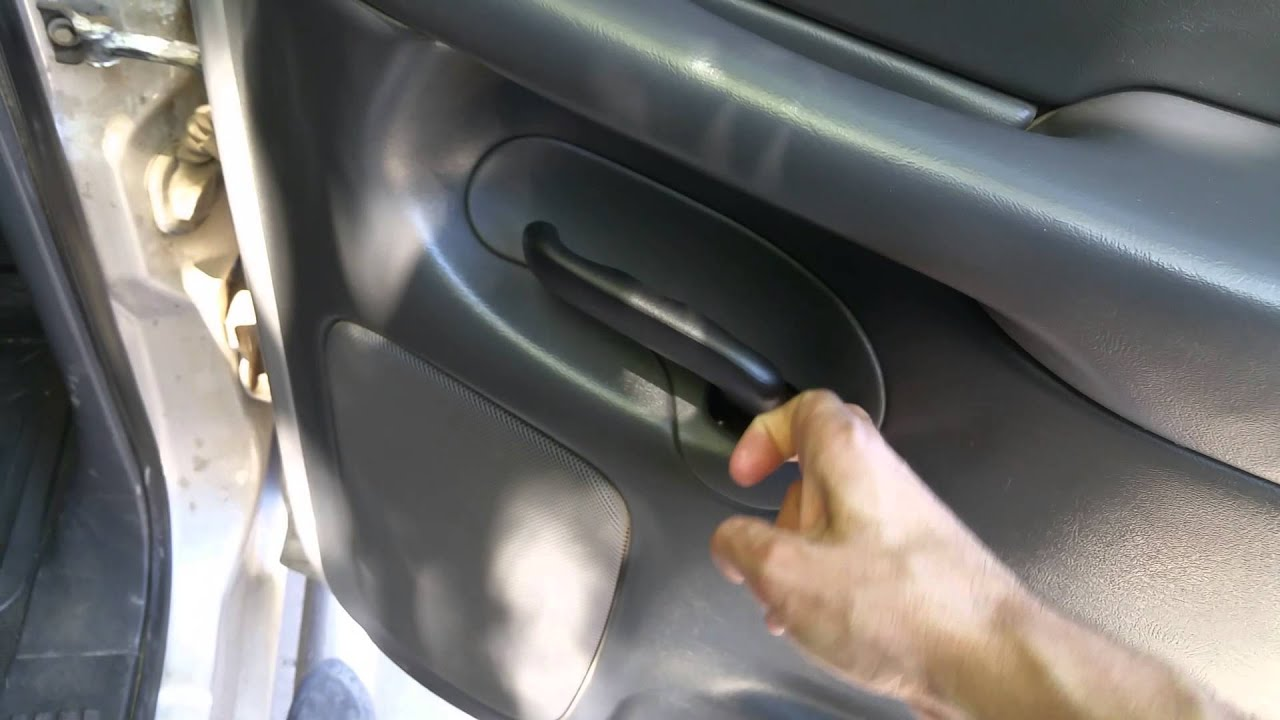 How To Remove Rear Door Panel On A 06 Gmc Sierra 1500 Sle Crew Cab