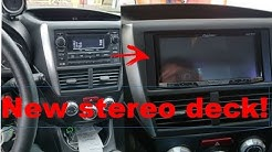 Installing a New Stereo Deck in the Subaru! (2013 Subaru WRX)