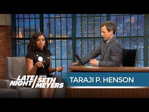Taraji P. Henson on Improvising Cookie Lyon's Insults  Late Night with Seth Meyers