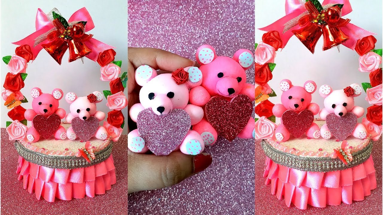 Cute Teddy Bear Valentine S Day Gift For Him Her 2019 Diy Valentine Gift Ideas For Him Youtube