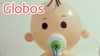 40 Adornos con Globos para Decorar un baby shower HD