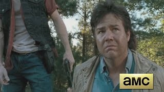 The Walking Dead 6x14 - Eugene Bites Dwight