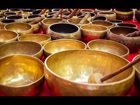6 Hour Powerful Tibetan Bowl Music: Chakra Healing, Meditati