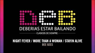 """Night Fever / More Than a Woman / Stayin Alive"" - DEB - Bee Gees"