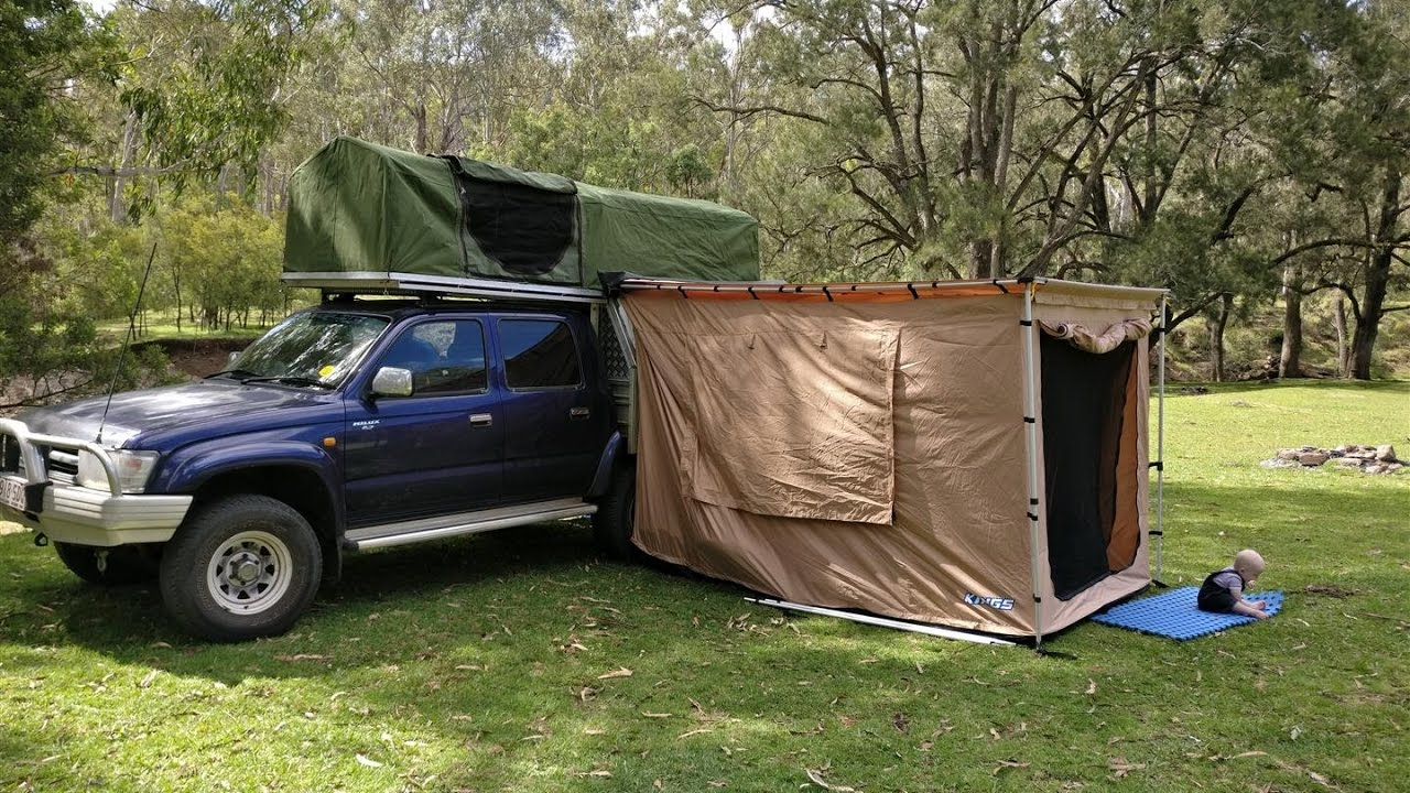 Homemade DIY Ute (Truck) canopy c&er with buit in rooftop tent & Homemade DIY Ute (Truck) canopy camper with buit in rooftop tent ...