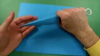 видео Как сделать из бумаги кунай. Мастер-класс по изготовлению бумажного оружия