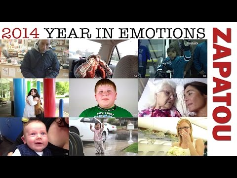 2014: Year in emotions (First edition) - Zapatou