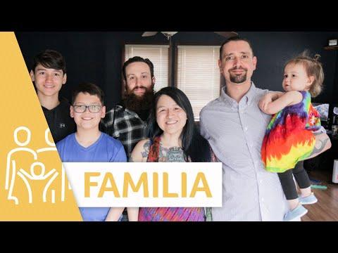 ¿Cómo es estar casada con dos hombres y tener familia? | Familia | Telemundo Lifestyle