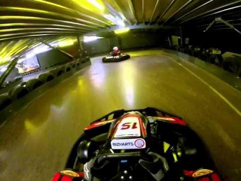 Electric Go Kart >> Go Karting at Teamsport Farnborough - YouTube