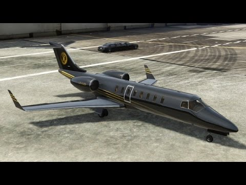 Piloting a Luxor Jet | First Person GTA 5 Xbox One