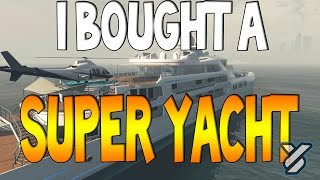 GTA 5 ONLINE: SPENDING SPREE !  GALAXY SUPER YACHT PURCHASE AND SHOWCASE DLC