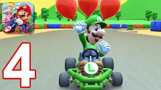 Mario Kart Tour - Gameplay Walkthrough Part 4 - Roy Cup (iOS, Android)