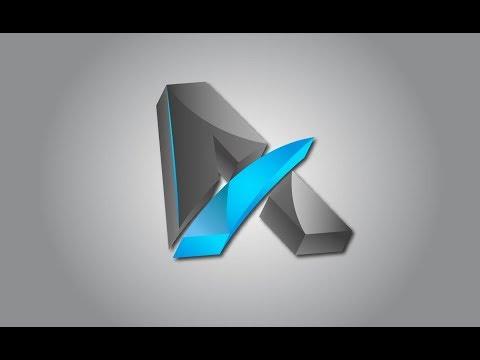 illustrator 3D logo design tutorial | illustrator 3d text tutorial by Design world