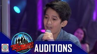 "Pinoy Boyband Superstar Judges' Auditions: Isaiah Tiglao -""Billionaire"""
