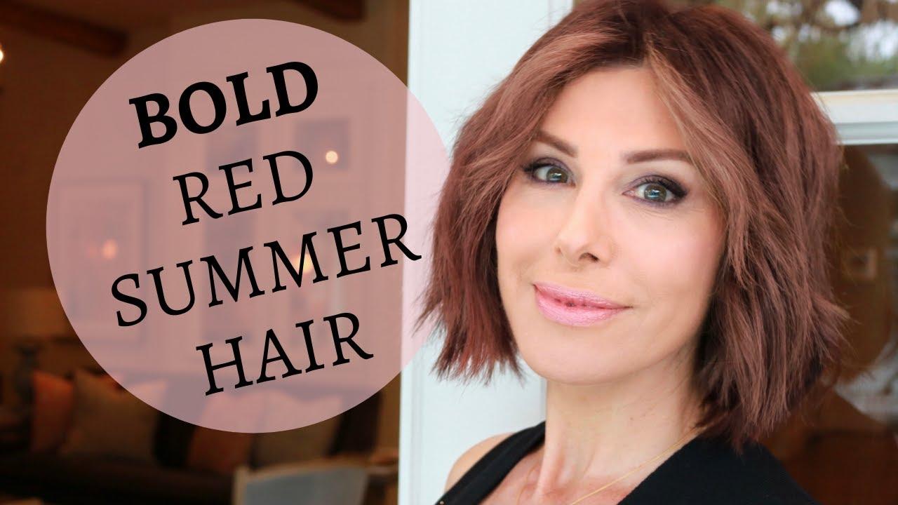 Hair Color Change - Again!   A Salon Surprise   Dominique Sachse