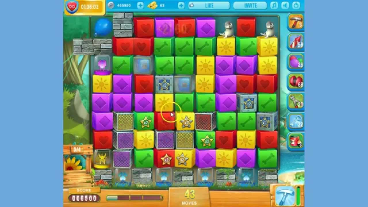 Pet rescue island level 4 18th 20th june 2016 youtube for Pet island level 4