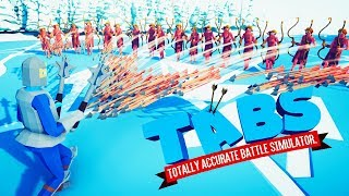 The New Secret Units Are Unstoppable in Totally Accurate Battle Simulator
