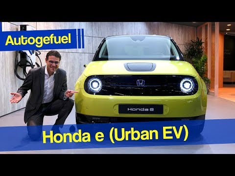 Could this be a bestseller EV? Honda e REVIEW - Autogefuel