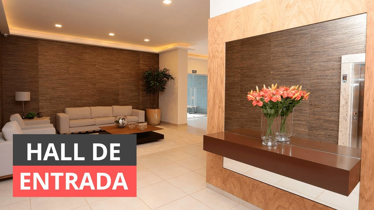 Hall de entrada como fazer para decorar youtube - Decorar hall entrada ...