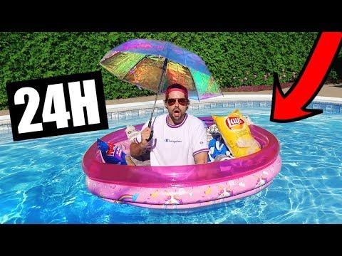 24H DANS LA PISCINE - HUBY