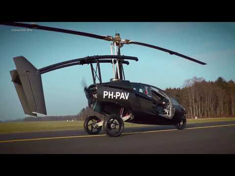 PAL-V ONE Flying Car at Teuge Airport holland  8-10-16