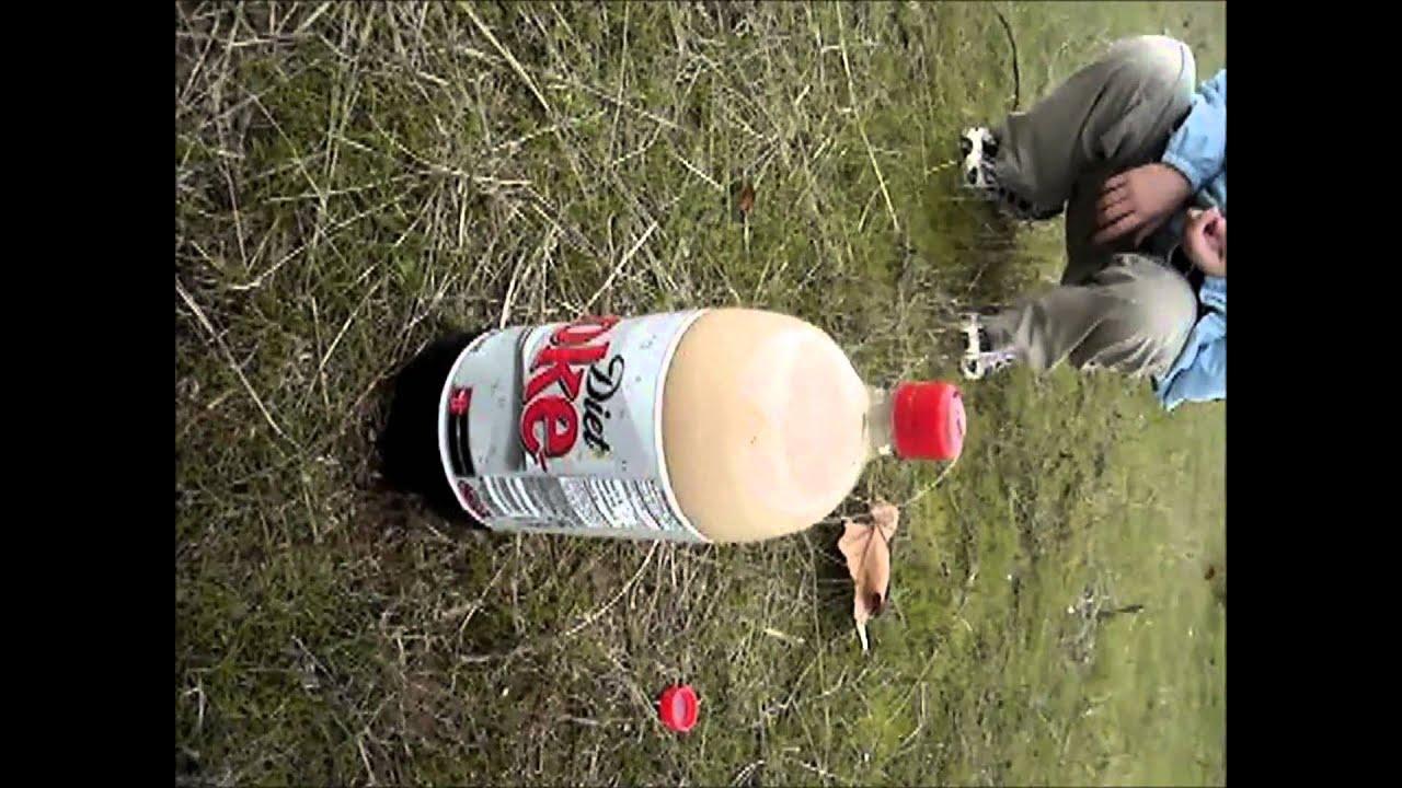 Diet coke facial experiment